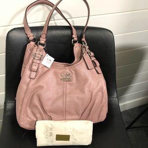 New coach bag & new wallet
